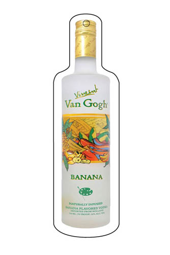 רחנית של vodka banana