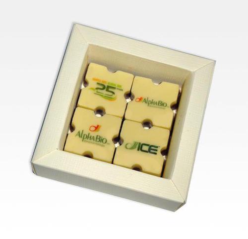 מארז פרלינים 4 יח' משוקולד בלגי איכותי,פצצה של תשומת לב