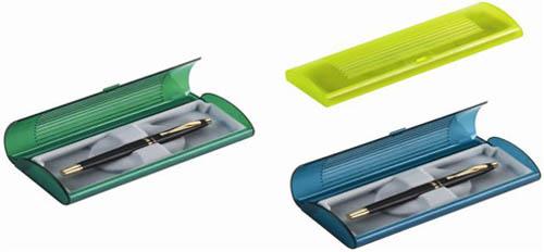 מארז פלסטיק צבעוני לעט