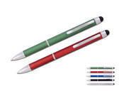 עט 2 צבעים באחד וכרית מגע