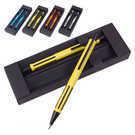 סט עטים מתכתיים כדורי ועיפרון