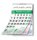 לוח שנה צבעים משתנים 1