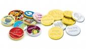 מטבעות שוקולד גדולות