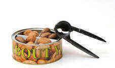 מארז אגוזים בפחית עגולה ממותגת