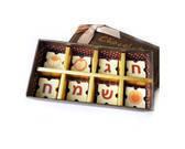 מתנה מתוקה מארז פרלינים משוקולד בלגי איכותי 8יח'