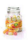 צנצנת סוכריות דקורטיבית