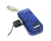 מפצל USB שטוח 4 כניסות
