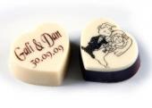 סוכריית שוקולד לב