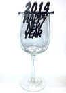 קישוט לכוס יין