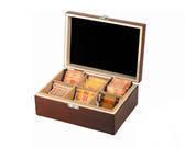 קופסת עץ מהודרת 6 תאים
