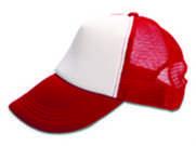 כובע מצחיה 5פאנל חצי בד רשת