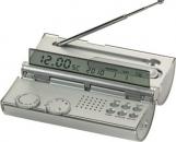 רדיו שעון בצורת גליל